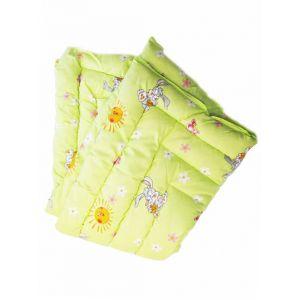 Одеяло с овчиной детское 1,1 * 1,45 (обычная)