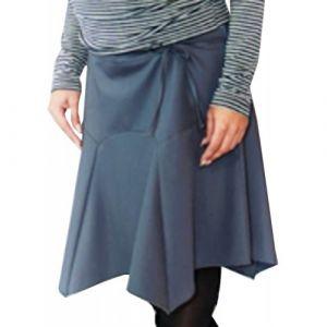 Спідниця для вагітних (сіра) № 2702