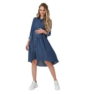 Джинсовое платье для беременных № 1911/0000